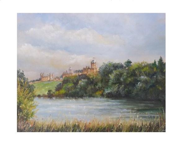 Castle Howard oil painting
