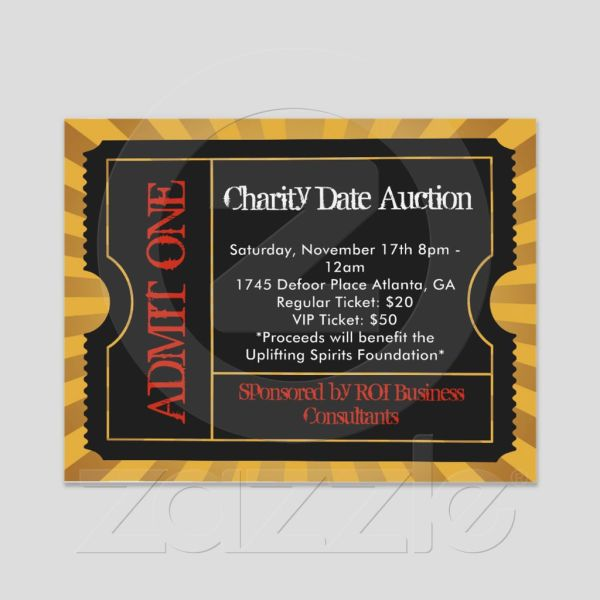 Tickets Charity Date Auction In Atlanta Showclix