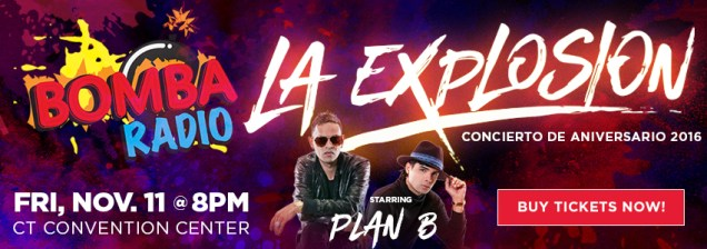 Tickets for La Explosion Musical De Bomba 2016 in Hartford from ShowClix