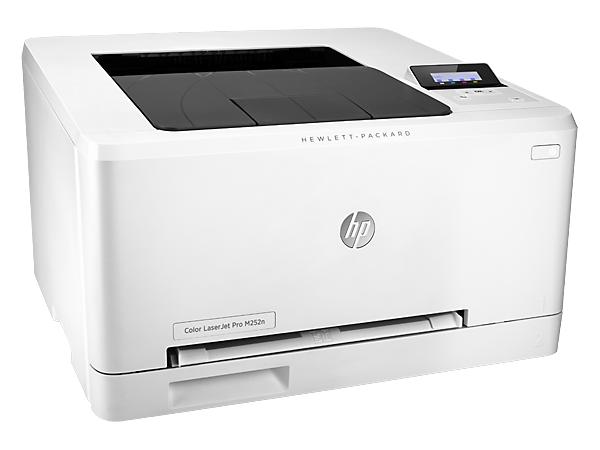 Купить цветной лазерный принтер HP Color LaserJet Pro M252n