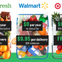 How Amazon Walmart And Target Compare On Grocery Delivery