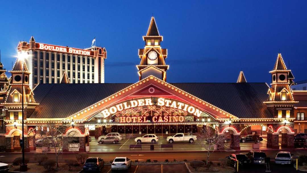 Boulder Station Hotel Casino exterior view