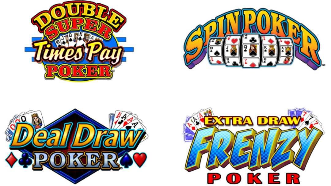 Vido Poker Logos