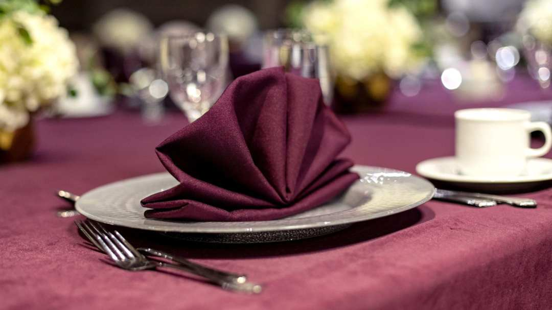 Palace Station Special Event Table Setting