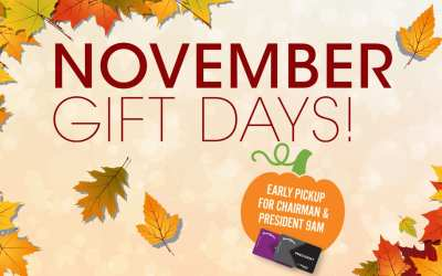 November Gift Days