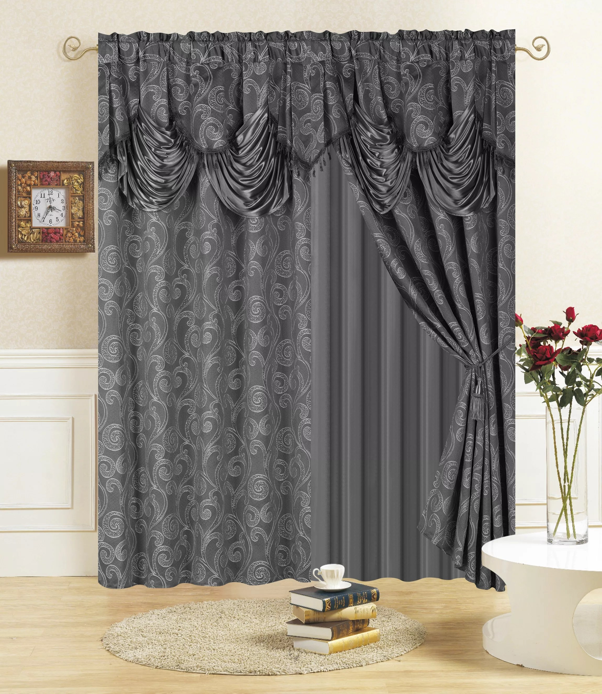 2 pcs curtain sets window for the living room window buy curtain window curtains for the living room window curtain sets product on alibaba com