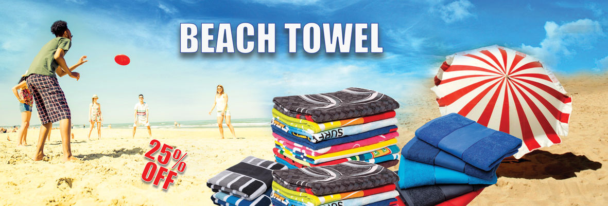 Sample free custom microfiber round beach towel with your logo