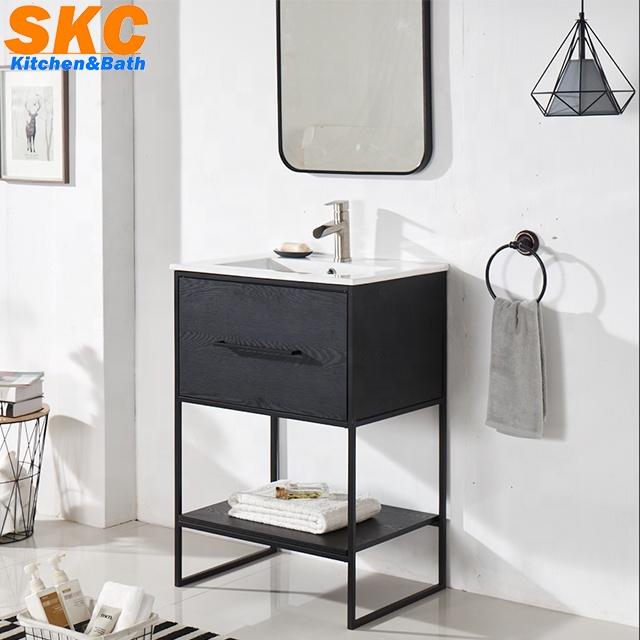 New Design Metal Legs Black Bathroom Vanity Cabinet With Mirror Buy Bathroom Vanity Cabinet Bathroom Vanity Vanity Cabinet Product On Alibaba Com