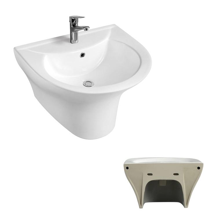 evier mural suspendu lavabo de salle de bain ou de toilette une piece buy wall hanging sink one piece wall hung basin bath toilet sink product on