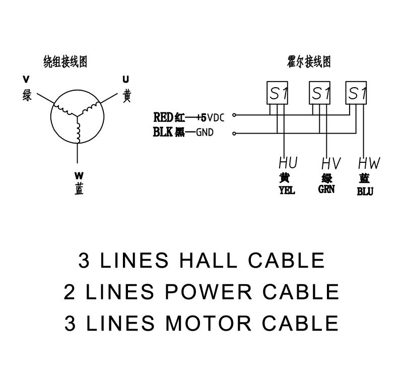 42blf3030-4 3 Phase Brushless Motor 30w Nema 17 Dc 24v