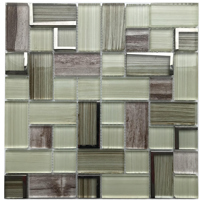 bulk lowes glass tile kitchen backsplash mixed mosaic wall tiles buy mosaic wall tiles bathroom mosaic wall tile bulk mosaic tiles product on