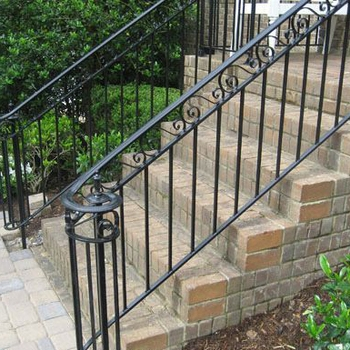 Iron Handrail For Outdoor Steps Interior Stair Railings Buy | Outdoor Metal Stair Steps | Stair Railing | Stair Riser | Deck Stairs | Stair Stringer | Wrought Iron Railings