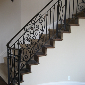 2015 Top Selling Modern Interior Wrought Iron Stair Railings View   Modern Wrought Iron Stair Railing   Custom   Farmhouse   Decorative   Luxury   Outdoor