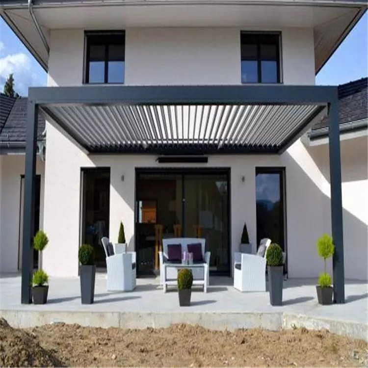 wall mounted aluminum louver retractable patio and deck pergola cover system for swimming pool buy retractable pergola louvered roof pergola