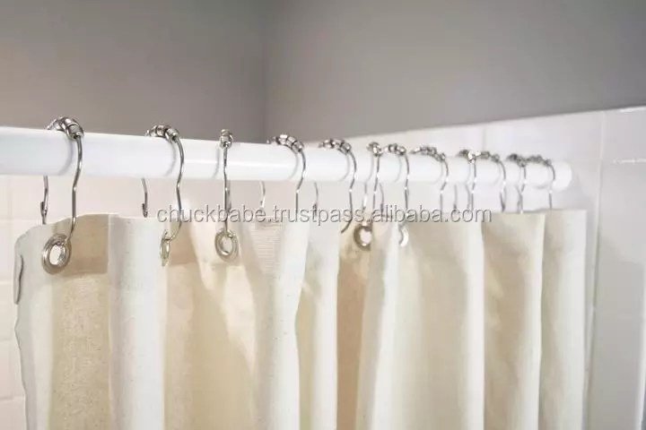 cotton or hemp shower curtain buy natural shower curtain product on alibaba com