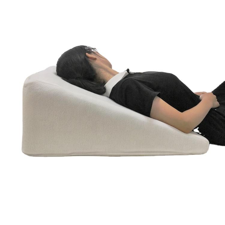 amazon hot sell cool gel memory foam wedge pillow cooling bed wedge pillow 10inch 12inch 7 5inch buy cool gel memory foam wedge pillow cooling bed wedge pillow wedge pillow product on alibaba com