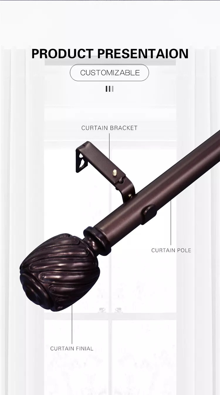 magnetic no drill 5 16 inch swivel end sash wrought iron extendable curtain rods buy magnetic no drill curtain rods wrought iron extendable curtain