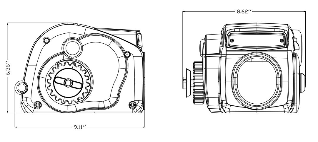 Trw25-s Electric Trailer Winch,Mini 12v 4x4 Electric