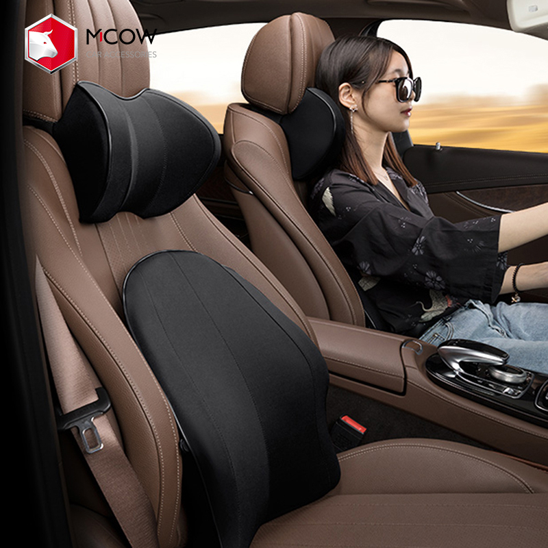 memory foam car back support cushion ergonomic lumbar support pillow to relieve sciatica pain for office desk chair car seat buy lumbar back support