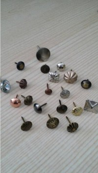Factory Decorative Nail Heads For Furniture Black Nails ...
