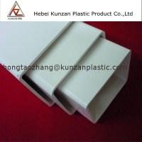 High Quality 80x60 Pvc Hydroponics Rectangular Pipe - Buy ...