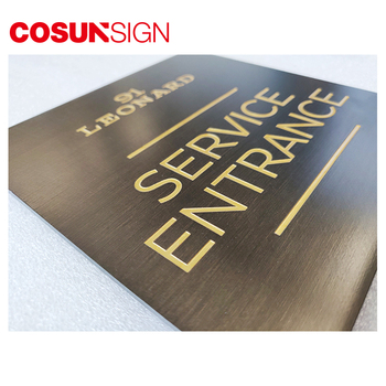 etched and engraved metal