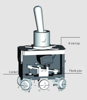 Miniature Toggle Switchtoggle Switch Wiring6 Pin 3a 12v