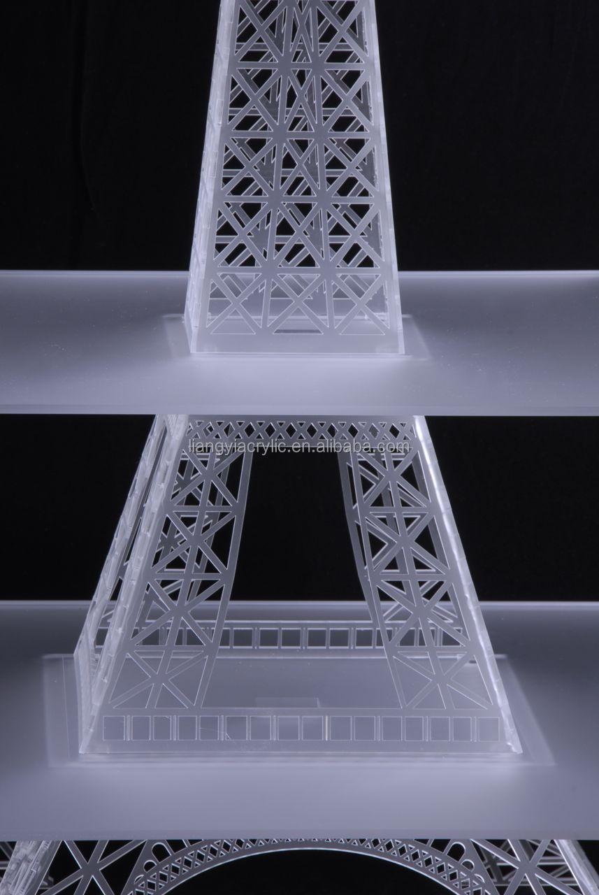 Highend Acrylic Eiffel Tower Cupcake Stand Manufacturer  Buy Acrylic Eiffel Tower Cupcake