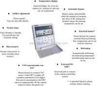 Air Conditioning System Crossflow Heat Exchanger Fresh Air ...