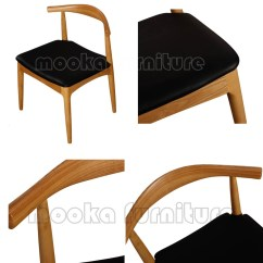 Air Horn Office Chair Lift Chairs Dayton Ohio Ch129 Wooden Hans J Wegner Style Pp505 Cow