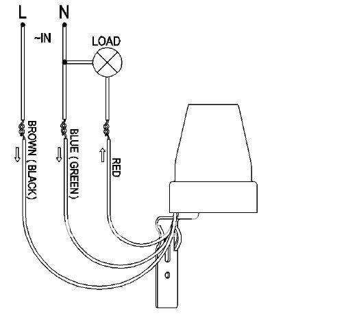 4 wire lamp diagram