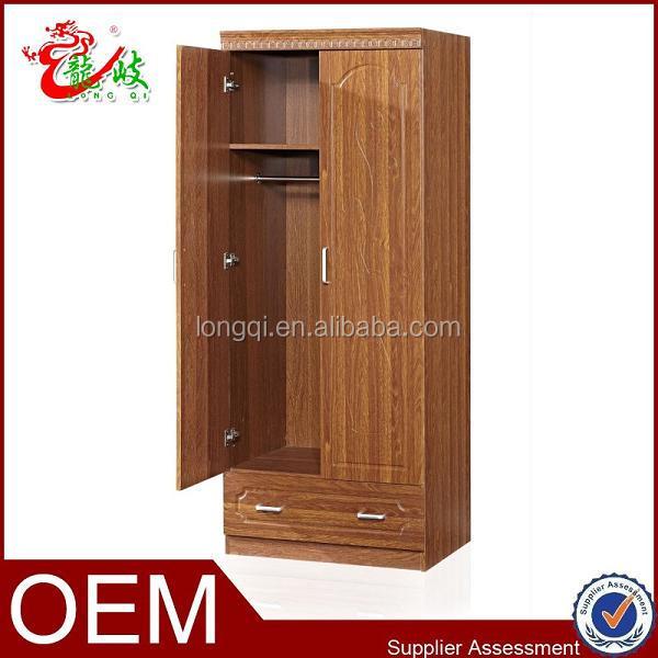 Simple Bedroom Furniture Wardrobe Closet Wooden Clothes