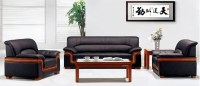 Executive Office Sofa Office Furniture Fabric Sofa Leather ...