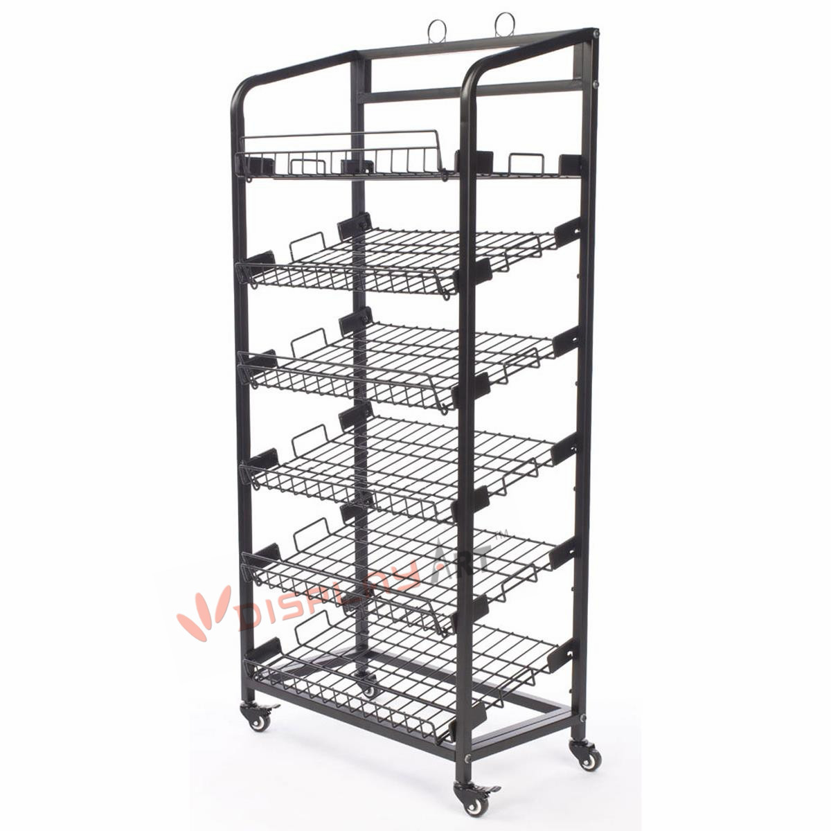 Bread Display Rack For Retail Store And Bakery