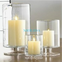 Clear Tall Bulk Glass Votive Candle Holder For Wedding ...