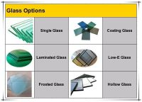 Hot Aluminium Glass Inserts Double Entry Doors Interior