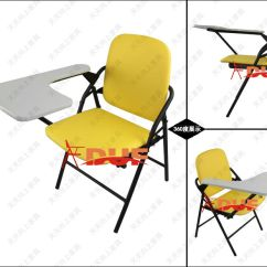 Desk Chair Size 8 Round Table Standard Of School Tablet Arm Folding With Writing Pad Wholesale Price Free