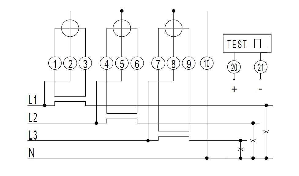 Wiring Diagram Kwh Meter 1 Fasa