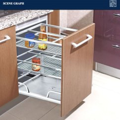 Kitchen Basket Samsung Appliance Packages Modern Stainless Steel Drawer 201 Buy