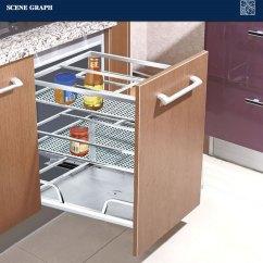 Kitchen Basket Refurbished Appliances Modern Stainless Steel Drawer 201 Buy