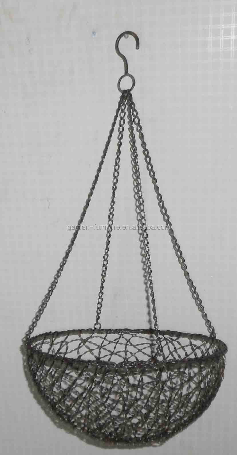 Handicraft Decorative Metal Planter Fruit Bowl Wrought