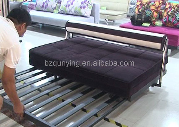 metal frame sofa bed rattan corner strong furniture modern sliding mechanism buy cheap meta product