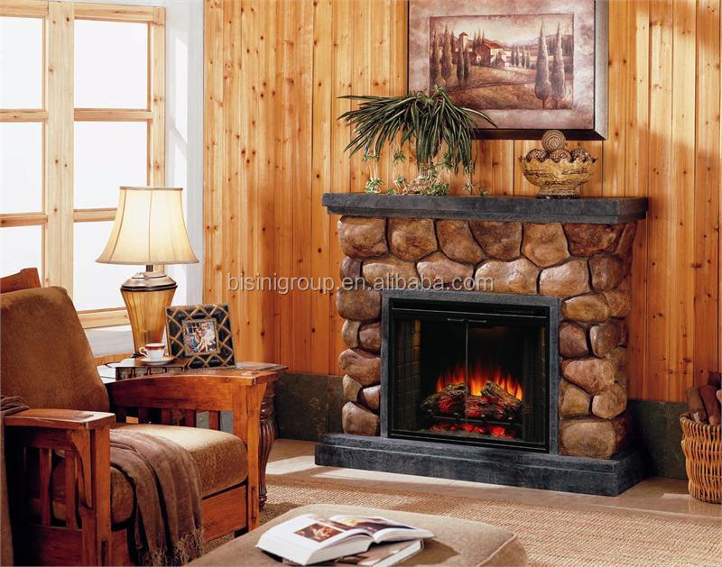 Bisini European Style Decorative Fake Flame Electric