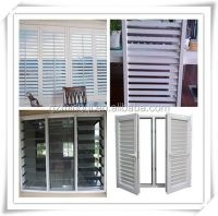 Modern Luxury Reinforcement Upvc Horizontal Sliding Window