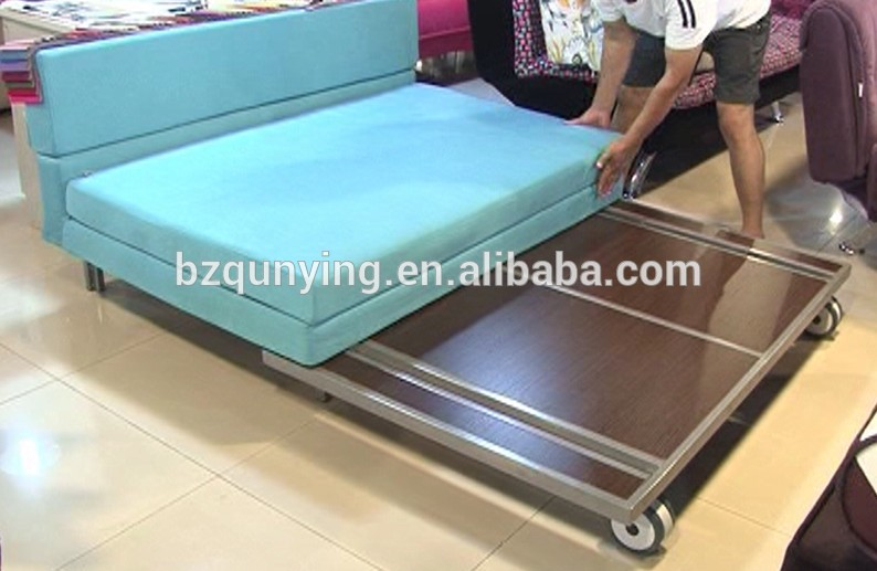 sofa pull out bed frame leather recliner sofas sale uk outstanding cheap tubular construction fold with wheels