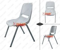 Black Plastic Party Chair College Classroom Furniture ...