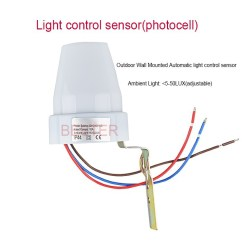 Photocell Wiring Diagram Lighting Bmw Legend Ajustabel Automatic Inductive Sensor With 220v-240v,hot Selling Motion Light ...