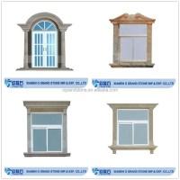 Custom Design Carved Stone Marble Exterior Window Frame ...