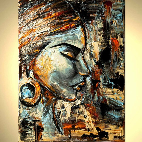 Abstract Art Paintings African Women