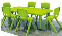 Colorful Square Nursery School Kitchen Tables/used Daycare ...